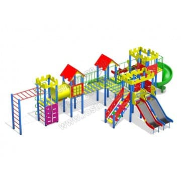 Детский игровой комплекс Весёлый дворик