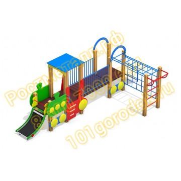 Игровой комплекс для детей Паровозик КБ
