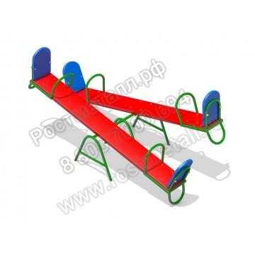 Качалка-балансир деревянная двойная для детей