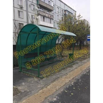Автобусная остановка Прогресс ОМ 11