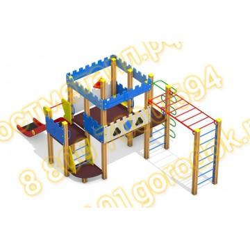 Детский игровой комплекс Пост ДПС 03