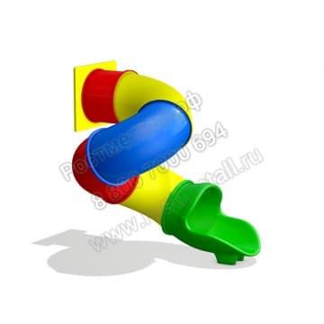 Горка пластиковая Труба