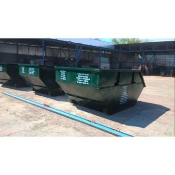 Бункер контейнер для мусора объемом 8 м3