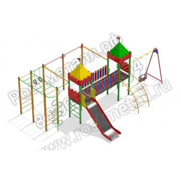 Детский игровой комплекс Камелот - Солярис