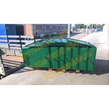Контейнер мусорный объём 1,1 м3 (евроформа)