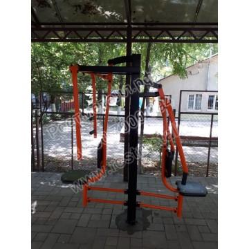 Тренажер уличный Баттерфляй-Жим от груди КВ