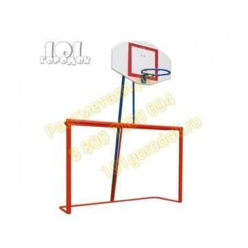 Ворота комбинированные (футбол/баскетбол) 1 вариант