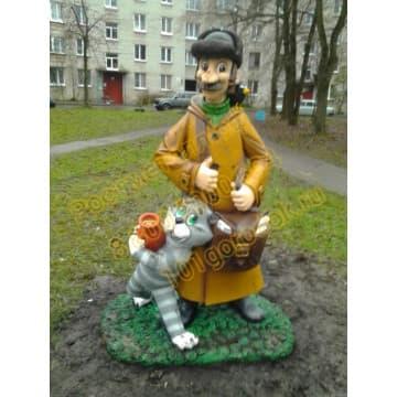 Сказочный персонаж Почтальон Печкин