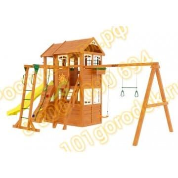 Детские городки Клубный домик 2 с рукоходом Luxe