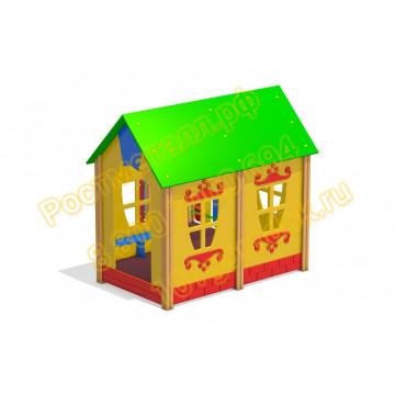 Домик с балконом для детей