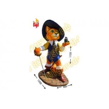 Сказочный персонаж Кот в сапогах