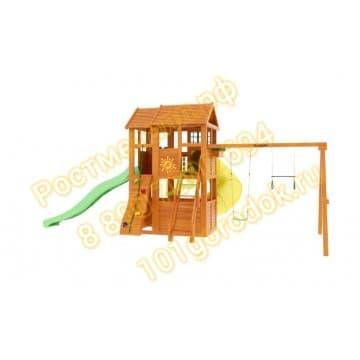 Детские городки Клубный домик 2 с трубой