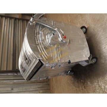 Евроконтейнер оцинкованный для мусора объемом 1,1м3