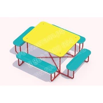 Стол со скамейками Игруля