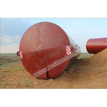 РВС 160 м3 опора - 25,5м (негабарит)- Резервуар вертикальный стальной