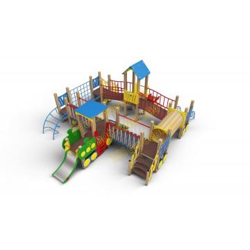 Детский игровой комплекс Локомотив 02