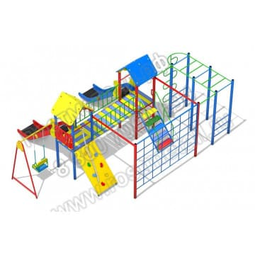 Детский игровой комплекс Солярис 04
