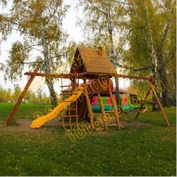 Игровая площадка Зарница и рукоход