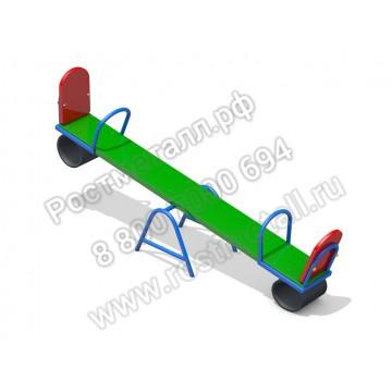 Качалка-балансир деревянная (с резинкой)