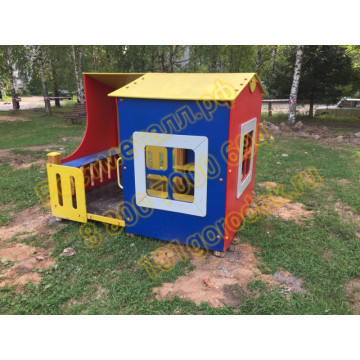 Домик для детской площадки Премиум КБ
