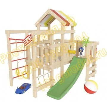 Детский игровой чердак Соник для дома и дачи