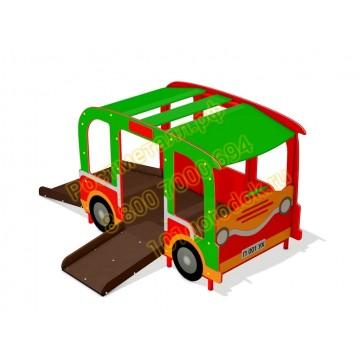 Домик Машинка для детей с ограниченными возможностями