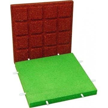 Резиновое покрытие для игровых и спортивных площадок