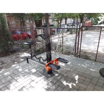 Тренажер уличный Степ и вело