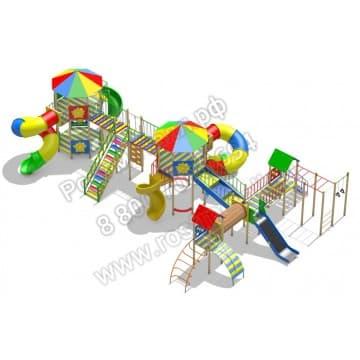Детский игровой комплекс Звездолёт