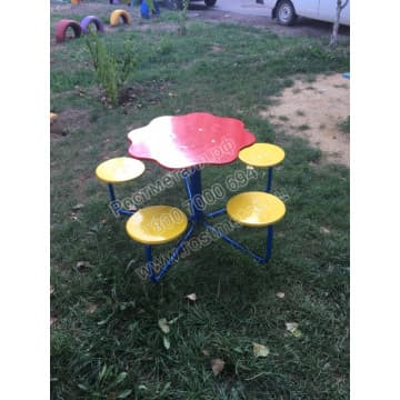 Столик для детского сада Семицветик