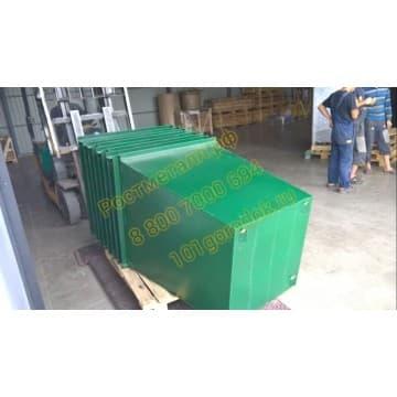 Контейнер металлический для мусора объём 0,75 м3