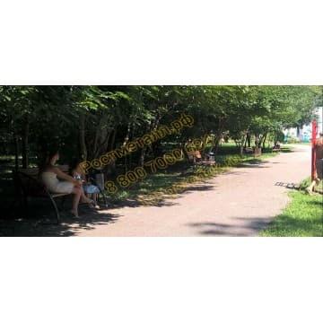 Скамейка парковая Элегия со спинкой
