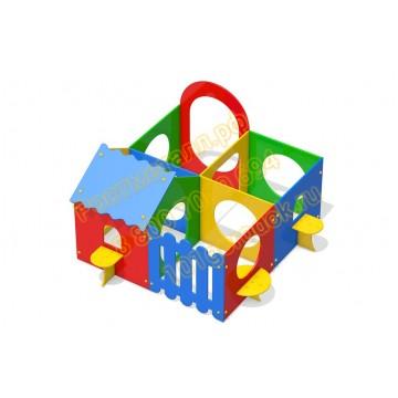 Детский игровой комплекс Лабиринт 02