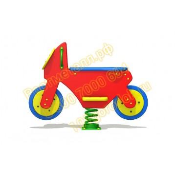 Качалка на пружине Мотоцикл