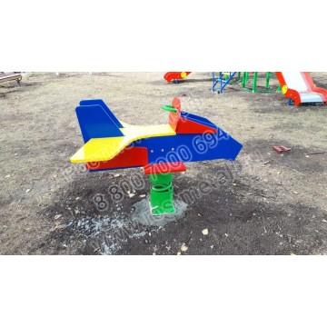 Качалка на пружине Самолет