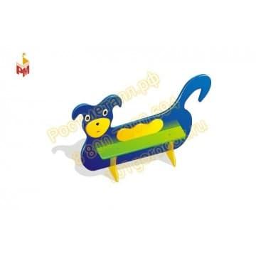 Лавка детская Собачка