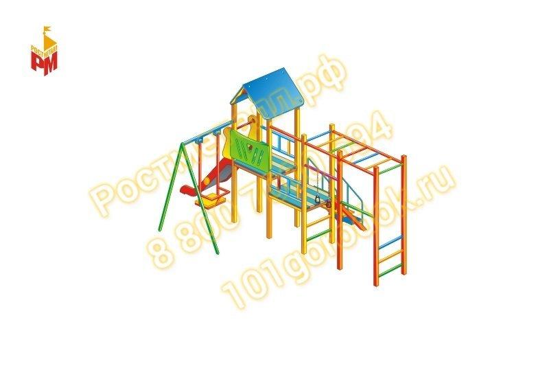 Детская площадка доставка установка