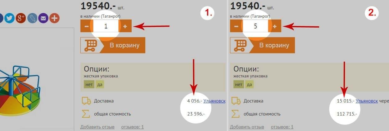 Пример доставки сайта Ростметалл.рф